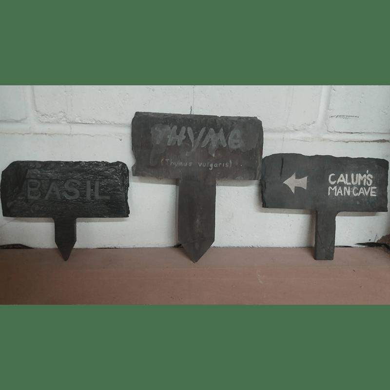 Slate Name Plates