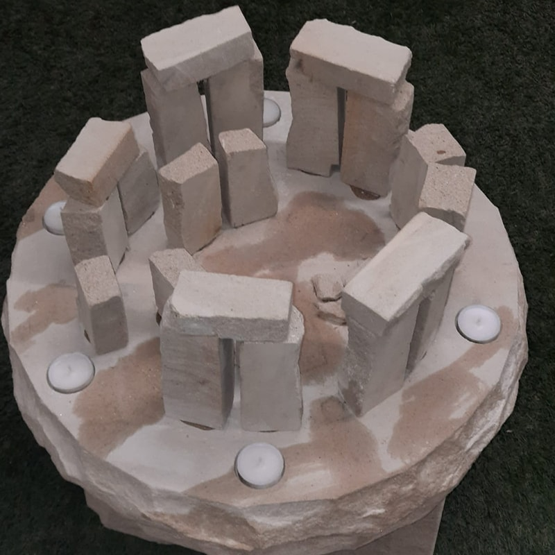 Stone Carved Circle